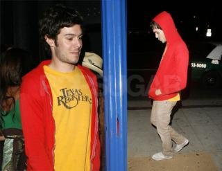 Adam Brody is Little Mr. Riding Hood