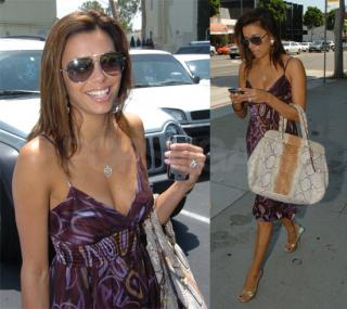 Eva Longoria Keeps it Simple