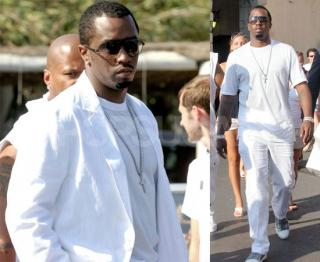Diddy Throws A White Party For Two With Penelope?