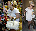 Britney Practices Shopping, Not Dancing, Singing