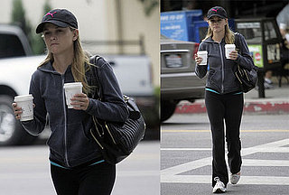 Reese Witherspoon Double Fists Her Caffeine