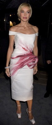 Worst Dressed Of The Day - Sharon's Bloody Mess