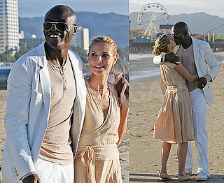 Heidi and Seal's Romantic (Taped) Beach Afternoon