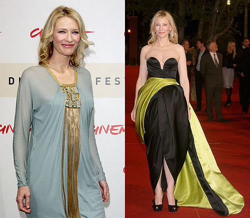 Cate Brings Elizabeth to Rome