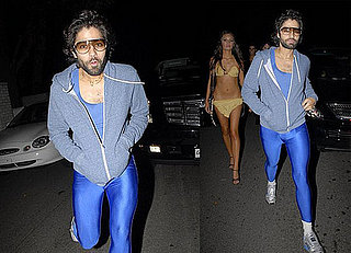 Adrian Grenier Shows Off His, Um, Legs for Halloween