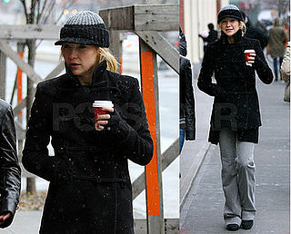 Kate Braves the Cold, but Has Her Shopping Sent to Her