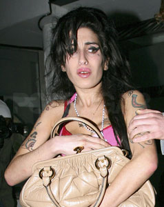 Amy Winehouse Arrested