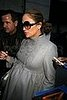 Pregnant Jennifer Lopez Shopping at Barneys