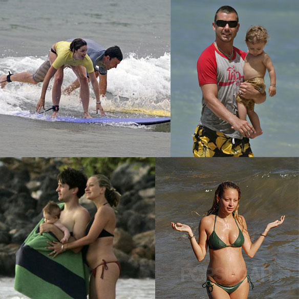 Our Favorite Celebrity Hawaiian Vacations of 2007