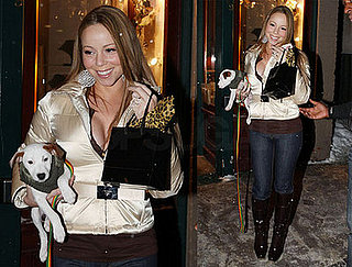 Mariah and Jack Jr. Hit the Slopes