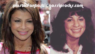 Did Paula Abdul have a nose job?