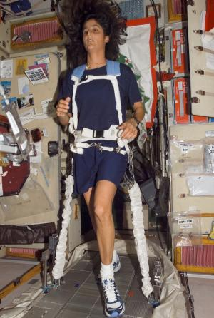 Space Run: Boston Marathon from the Space Station