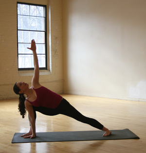 Strike a Yoga Pose:  Extended Side Angle