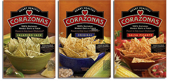 Just in Time for Cinco de Mayo: Corazon Chips