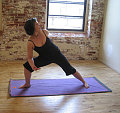 Favorite YOGA CHALLENGE:  Twisting Extended Side Angle