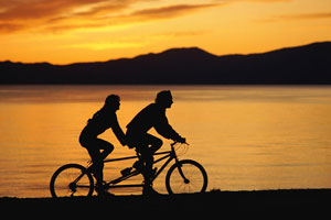 Get Physical:  Tandem Biking