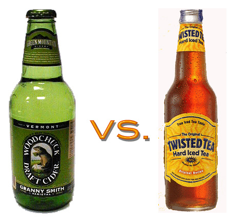 Hard Cider vs. Hard Iced Tea