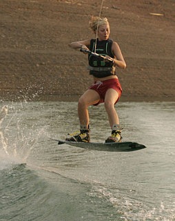 Ride the Wake:  Wakeboarding