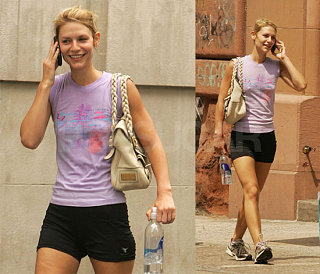 Would You Wear It: Claire Danes Spandex Gear