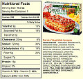 What's the FIRST Thing You Read on a Nutritional Facts Label?