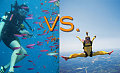 Would You Rather Scuba Dive or Skydive?