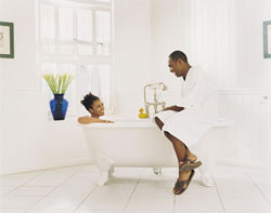Get Physical: Take a Bath Together