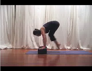 Yoga Video:  Jump Through With Blocks