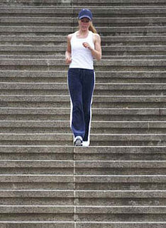 Get Physical: Run Stairs Together