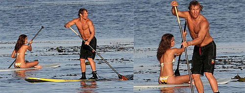 Matthew McConaughey Ditches Running for SUPing
