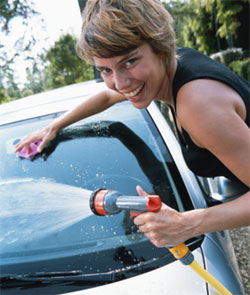 Fit Tip: Wash Your Own Car