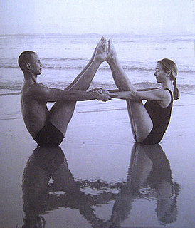 Partner Yoga Pose: Double Boat