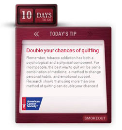 Quit Tip: Pick a Day to Quit Smoking