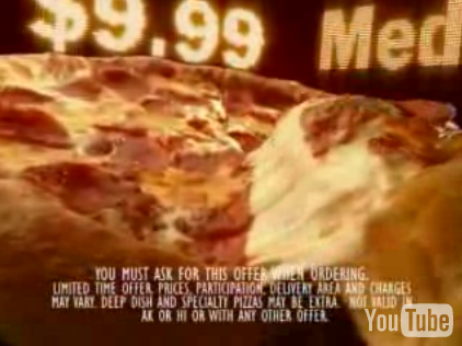 I'm Sick of Overly Decadent Food Commercials