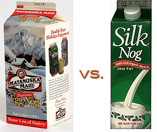 Egg Nog: Soy vs. Regular