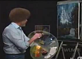 Tribute To Bob Ross, Landscape Painter Extraordinaire