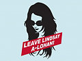 Product of the Day: Leave Lindsay A-Lohan T-Shirt