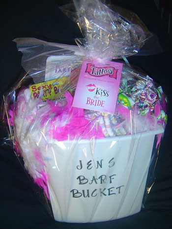 Product of the Day: Bachelorette Party Barf Bucket