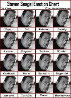 Steven Seagal: Most Expressive Actor Ever?