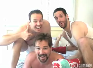 More Dudes In Bed