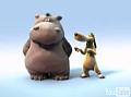 Cute Alert: Hippo and Puppy Duet