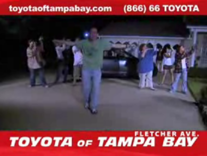 "Toyota of Tampa Bay Commercial is a Real ""Thriller"""