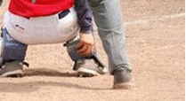 Umpire Splits Pants