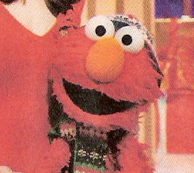 Anne Hathaway and Elmo in People Magazine