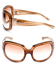 INTERMIX - Tom Ford Lisa Oversized Sunglasses