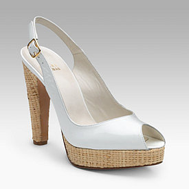 Stuart Weitzman - Spring Fling Slingbacks - Saks.com