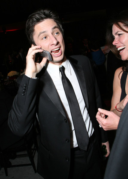 Zach Braff Is Rollin' In It ... Maybe