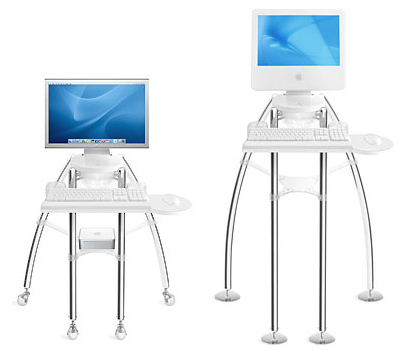 Totally Geeky or Geek Chic? iGo Mac Desk