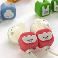 Emotibud Earbud Set - Cutest Headphones Ever