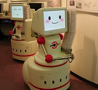 Meet Mospeng-kun - Tissue Dispensing Robot