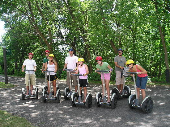 Would You Go On A Segway Tour?